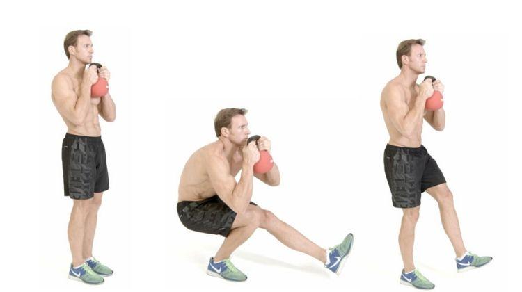 Exercice squat pistol