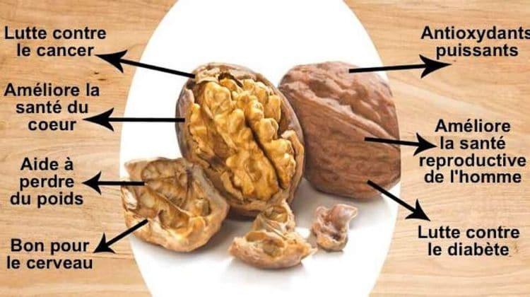 Les bienfaits des noix pour la prise de masse