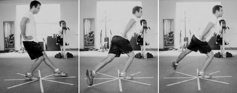 L'exercice de l'étoile vous permet de travailler votre équilibre et ainsi muscler vos chevilles