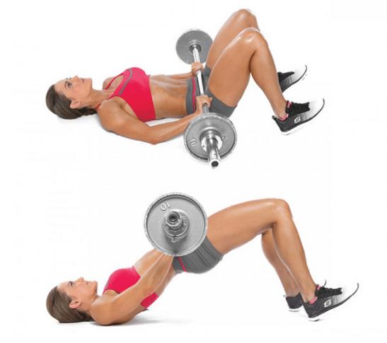 Exercice bas du corps, Hip Thrust
