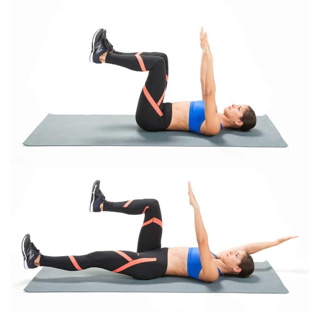 Exercice du DeadBug pour muscler ses abdos