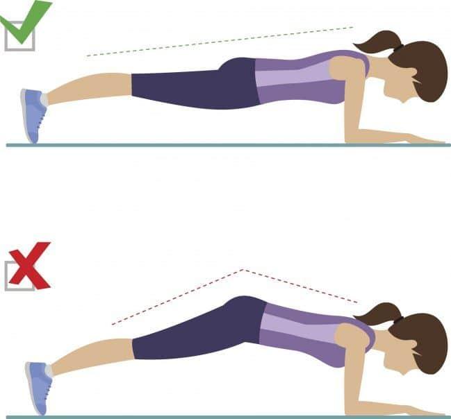 Le gainage planche pour se muscler apres 50 ans