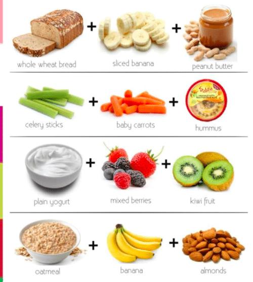 idées de snacks sains