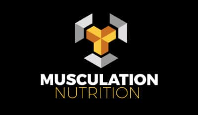 logo musculation nutrition transformation physique