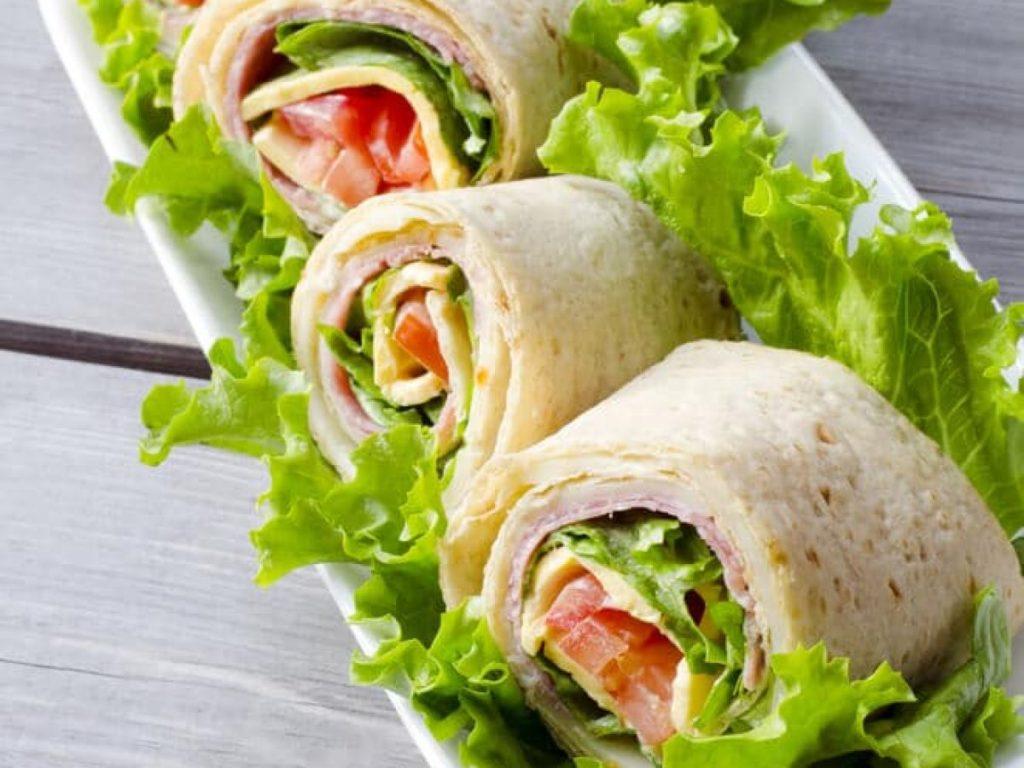 Idée de sandwich sans pain