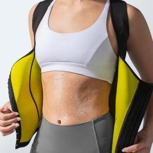 corset sudation femme ventre plat